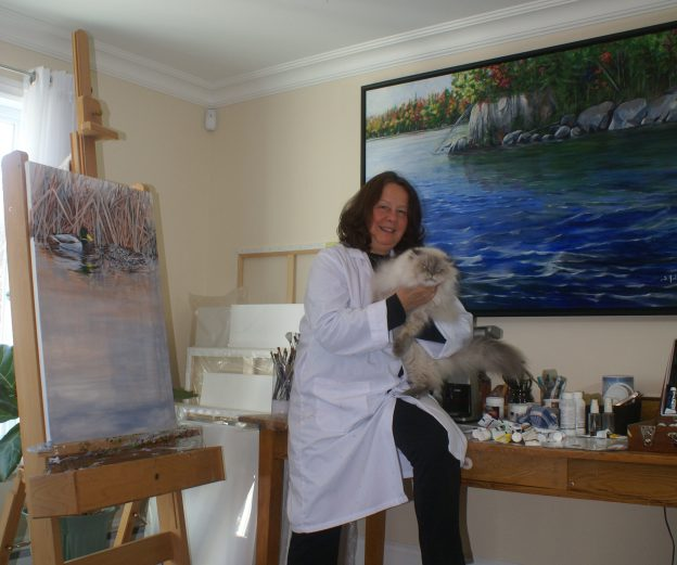 Sylvia Audet, artiste-peintre